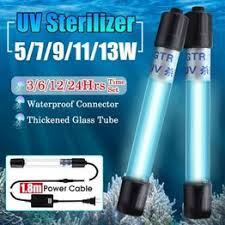 3W/5W/7W/9W/11W/13W Aquarium Submersible UV ... - Vova
