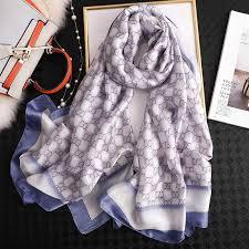 2019 <b>luxury brand women scarf</b> summer <b>silk scarves</b> shawls lady ...
