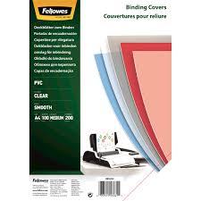 Купить <b>Обложка</b> для переплета <b>Fellowes Transparent A4</b> 200 мкм ...