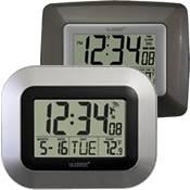 resistant patio clock thermometer