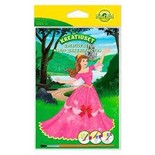 <b>Набор для</b> творчества <b>School Point</b> раскраска Princesse 8л+краски