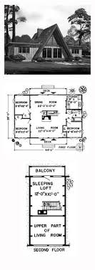 ideas about A Frame House Plans on Pinterest   A Frame House    A Frame House Plan   Total Living Area  sq  ft