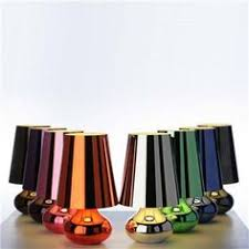 ferruccio laviani designed the cindy lamp to recreate a structure with all new form and color made of mass dyed techno plastic techno polymer battery ferruccio laviani wireless