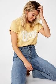 <b>Women's</b> Band Tees & <b>Printed</b> T Shirts   Cotton On