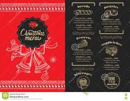 christmas party invitation food menu restaurant stock vector christmas party invitation food menu restaurant