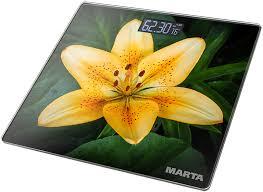 Весы <b>MARTA MT-1676</b> (<b>желтый</b>, <b>зеленый</b>)