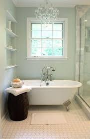 small bathroom chandelier crystal ideas:  small bathrooms with chandelier and clawfoot tub decorating furniture gallery bathroom chandelier ideas