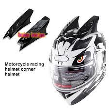 GSM   <b>1pair Motorbike</b> Helmet Horns Punk Helmet Horn Motor ...