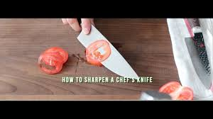How to <b>Sharpen</b> a <b>Knife</b> - <b>Easy</b> - YouTube
