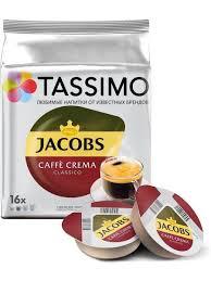 <b>Кофе капсульный</b> JACOBS Cafe Crema упак.:16капс. <b>Tassimo</b> ...