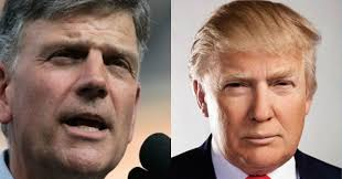 Image result for Franklin Graham and Donald Trump