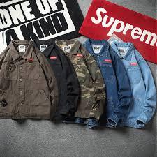 <b>Men Casual</b> Denim Jacket <b>Camouflage Tooling</b> Jacket Japanese ...