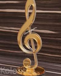 """<b>Наградная статуэтка</b> """"Скрипичный ключ"""""""