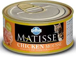 Влажный корм <b>Farmina Matisse</b> Cat Mousse Chiken мусс для ...