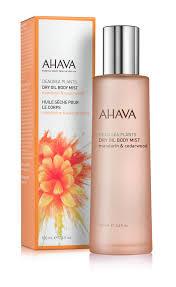 <b>Ahava</b> Deadsea Plants Ж <b>Сухое масло для</b> тела мандарин и кедр ...