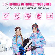 christmas teenage girls winter jacket coat parka warm down childrens jackets pink black red clothing winterjas meisjes