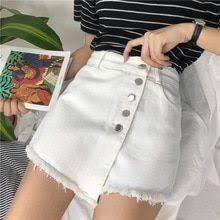 Mini Skirt Pants The Irregular Trousers Skirt High Waist Single ...