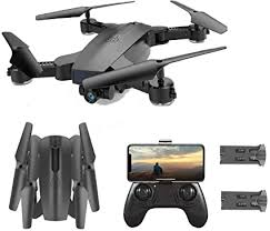 SGOTA <b>RC</b> Drone with <b>Dual</b> 720P HD 2mp <b>Cameras Foldable</b> FPV