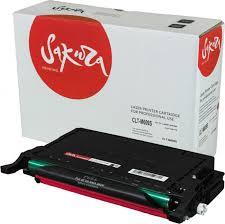 Тонер-<b>картридж Sakura CLTM609S</b>, пурпурный, для лазерного ...