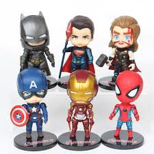 <b>6pcs</b>/<b>set</b> The <b>Avengers Iron</b> Man+ Captain America+ Thor Lot Figure ...