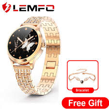 Smart Watches Women <b>LEMFO LW07 Health</b> Monitor Fashion ...