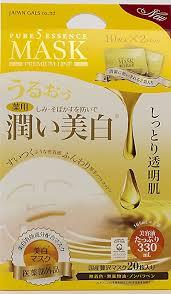 <b>JAPAN GALS Pure</b> Five Essence Mask Whitening, 0.5 Pound