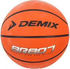 Мяч баскетбольный Demix оранжевый цвет — купить за 399 руб ...