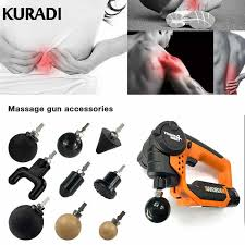 11Pcs/Set <b>Muscle Relaxation</b> Massage TheraGuns Adapter ...