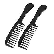 <b>2 Pcs</b> Hairstyle DIY <b>Wide Tooth</b> Plastic Curly Hair Care Handgrip ...