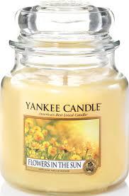 "<b>Ароматическая свеча</b> Yankee Candle ""Цветы на солнце / <b>Flowers</b> ..."