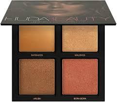 <b>Huda Beauty Bronze Sands</b> 3D Highlighter Palette: Amazon.co.uk ...