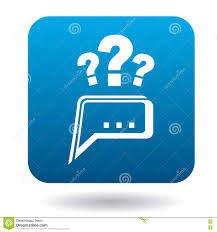 questions to technical support icon flat style stock vector questions to technical support icon flat style