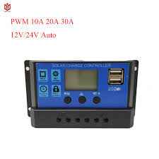 <b>MAYLAR 24V 12V Auto</b> Solar Battery Charge Controller Collector ...