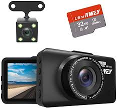 Dash Cam Front and Rear <b>Camera</b> FHD 1080P with Night: Amazon ...