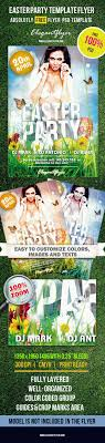 easterparty psd flyer template on a spring and ester theme easterparty psd flyer template on a spring and ester theme