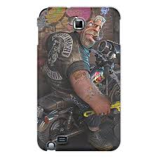 "Чехол для Samsung Galaxy Note ""<b>БАЙКЕР</b>. <b>BIKER</b>"" #2671025 от ..."