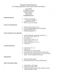 resume examples career services for resume objectives for high how student resume college application and resume how to write a high school resume objective