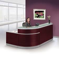 bow front desks reception desks bow front reception counter office reception desk