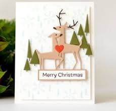 <b>Julyarts</b> 3pcs Delightful Deer Christmas Elk <b>Metal Cutting</b> Dies for ...