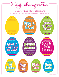 fun things to put in your egg hunt easter egg fillers easter egg fillers printables