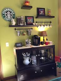 coffee bar heck yes this is def going in our new home would be great to have the kitchen dining room and sun room all have a bar coffee chill out attractive coffee bar home 4