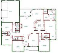 Superb Story Home Plans   Single Story Bedroom House Floor    Superb Story Home Plans   Single Story Bedroom House Floor Plans