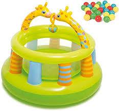 DFKDGL <b>Bouncy</b> Castle <b>Kids</b>,<b>Children's</b> Inflatable Castle Baby Gym ...