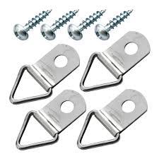 <b>Петля</b>-<b>подвес</b> Л-<b>кольцо</b> для картины фоторамки никелированная ...