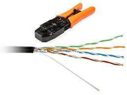 <b>Сетевой кабель</b> Ripo <b>UTP</b> cat 5e RJ45 20m Gray подходящего под ...