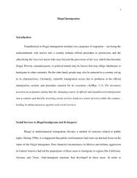 illegal immigration anthropology essay   studentshare illegal immigration essay example