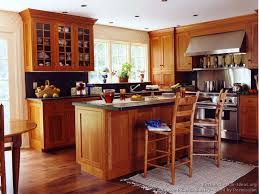 kitchen design cabinets traditional light: traditional light wood kitchen kitchen cabinets traditional light wood  cpa shaker cherry island seating wood floor