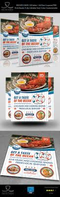 seafood restaurant flyer template vol by owpictures graphicriver seafood restaurant flyer template vol 2 flyers print templates