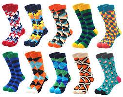 <b>10pairs</b>/<b>lot</b> Brand Quality Men Socks Combed Cotton colorful Happy ...