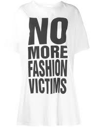 Katharine Hamnett London <b>Футболка С Принтом No</b> More Fashion ...